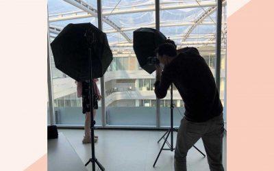 Bewerbung: Training und Fotoshooting für Mentees